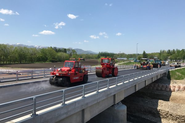 一般国道38号 清水町 清水北舗装補修外一連工事
