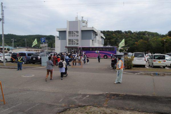 浦幌町ふるさとのみのり祭りで警備ボランティア活動を実施しました。
