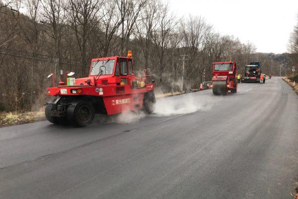 一般国道241号 足寄町 上足寄舗装補修外一連工事