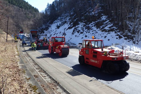 一般国道38号 浦幌町 上厚内舗装補修工事