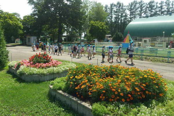 帯広動物園にて花壇植栽ボランティア活動を実施しました。