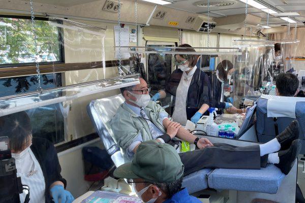 献血活動を実施しました。